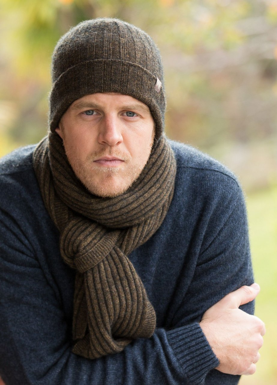 Ribbed Beanie & Ribbed Scarf